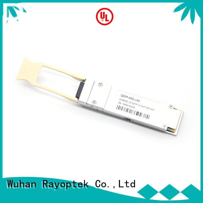 Rayoptek cost-effective qsfp 40g sr4 manufacturer for house