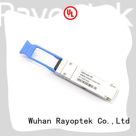 Rayoptek good quality qsfp 40g sr4 supplier for hotel