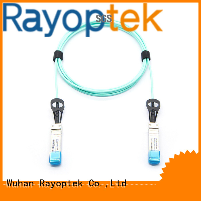 Rayoptek fiber optic network wholesale for company