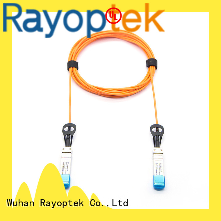 Rayoptek stable fiber cable supplier for company