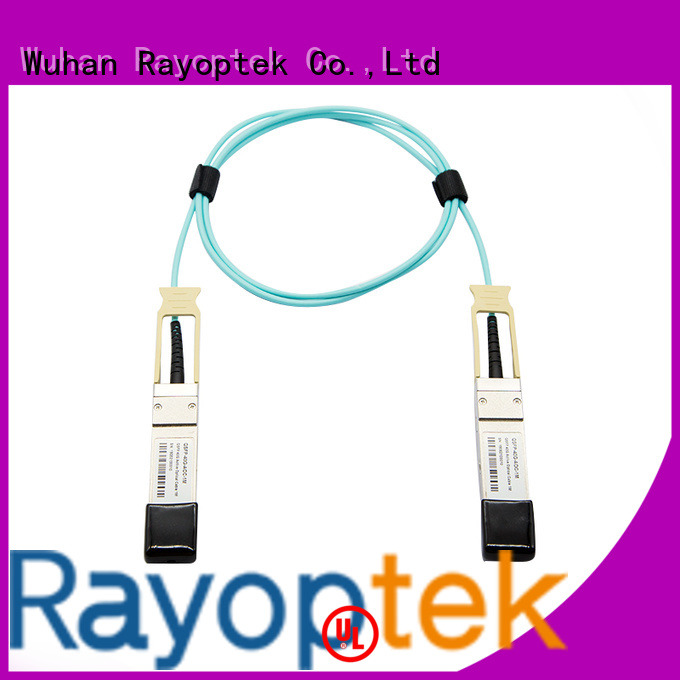Rayoptek professional qsfp+module factory price for hotel