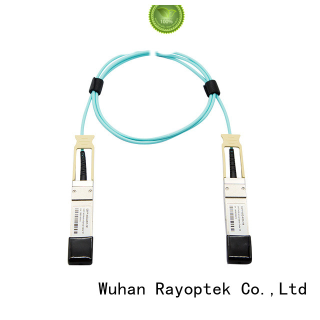 Rayoptek fiber cable personalized for mall