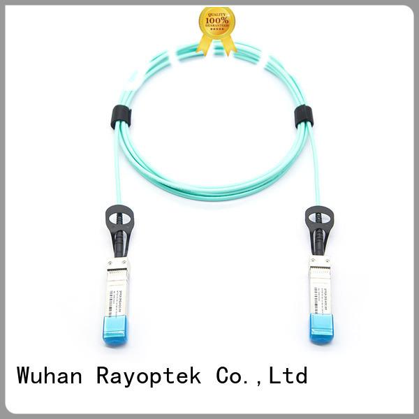 Rayoptek efficient fiber optic network wholesale for home