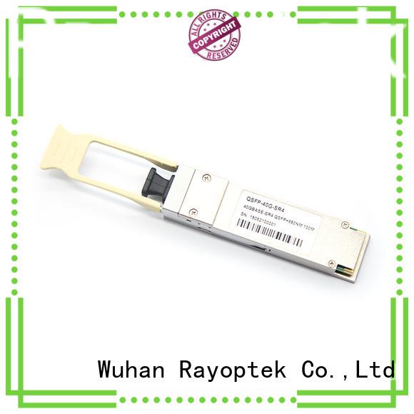 Rayoptek top quality qsfp 40g sr4 manufacturer