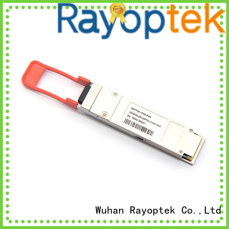 Rayoptek practical 100 gigabit ethernet wholesale for house