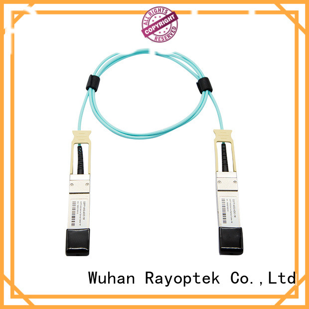 Rayoptek patch cable personalized for mall