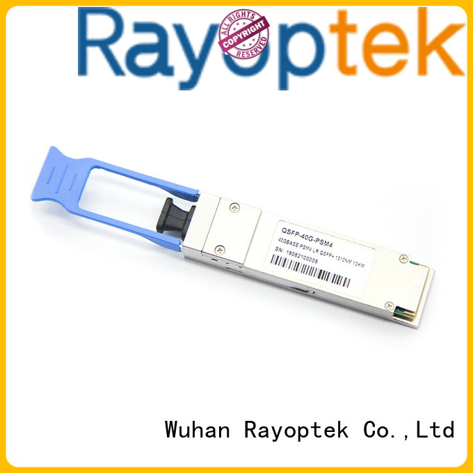 Rayoptek professional qsfp 40g sr4 manufacturer for house