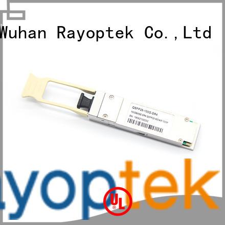 Rayoptek 100 gigabit ethernet supplier for mall
