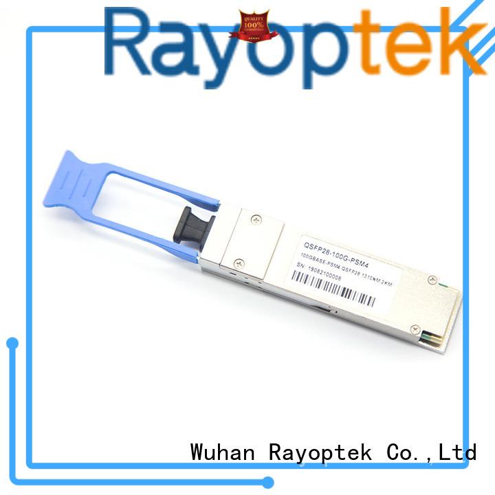 Rayoptek durable 100 gigabit ethernet wholesale for shop